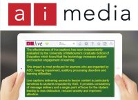 Interview with Ai-Media – Experts in Captioning & Transcription Solutions