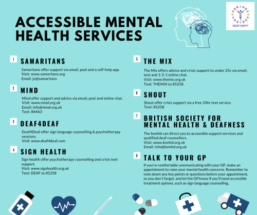 Accessible mental health services