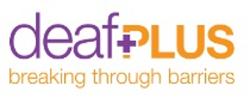 Deaf Plus organisation logo