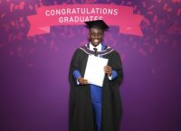 Deaf Learner Paul Ntulila Graduates with distinction