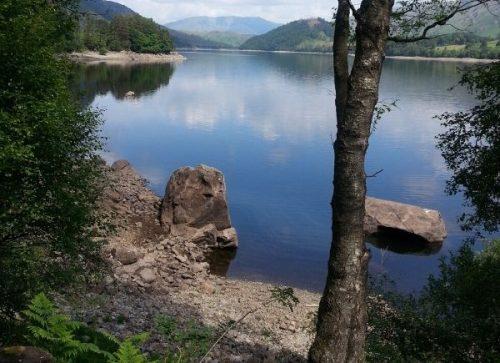 beautiful remote lake