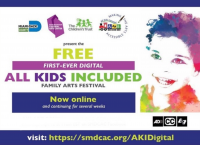 Free Digital ASL and Closed Caption Arts Festival for Kids