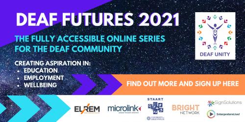 Sign Up for Deaf Futures 2021