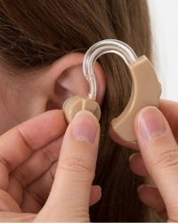 deaf identity a hearing aid